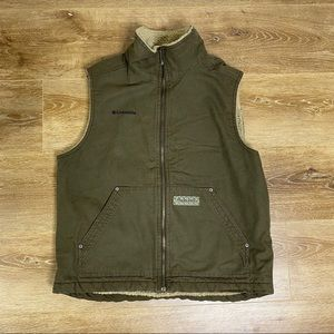 Columbia Sherpa Lined Vest